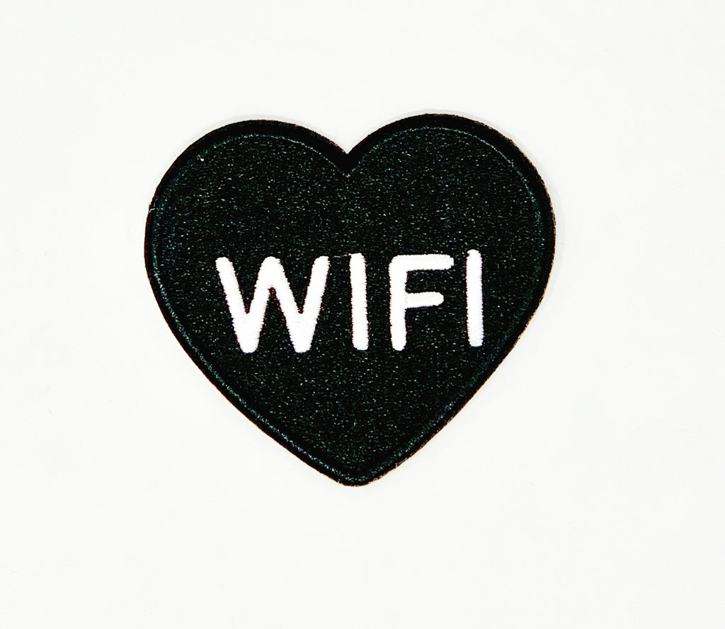 "PATCH BAR: Small ""Heart WiFi"" Patch"