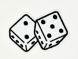 "PATCH BAR: Small ""Pair Of Dice"" Patch"