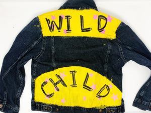 Kids Custom Hand Painted Jacket