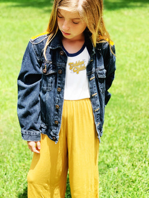 Girls GOLDEN CHILD JUMPSUIT