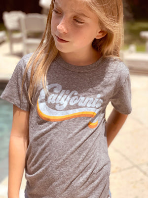"Kids Tiny Whales ""California"" Short Sleeve Tee"