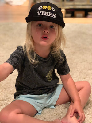 Kids Hat: Good Vibes Snap Back Hat