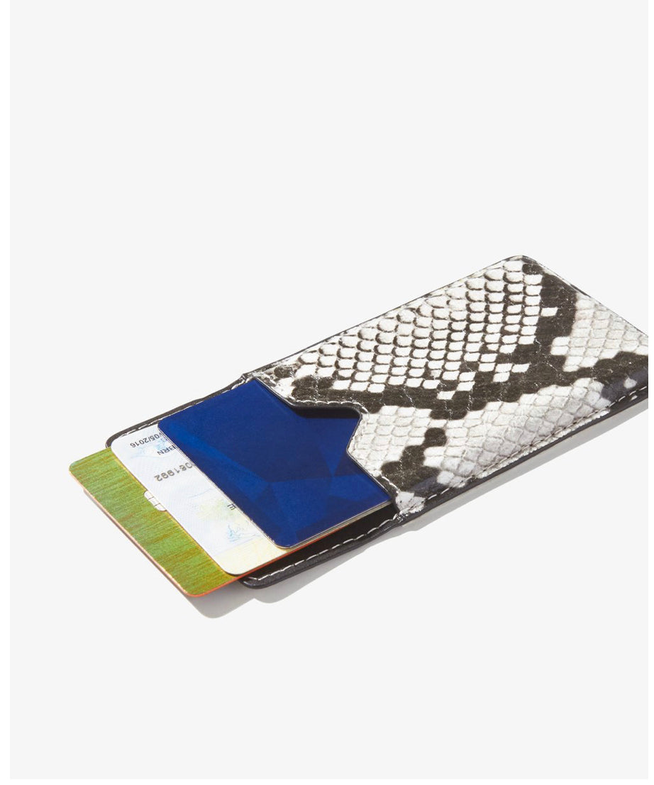 Sonix, Wallet Sticker - Gray Python