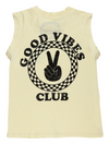 Boys GOOD VIBES CLUB MUSCLE TANK