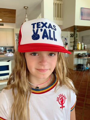 Kids Hat: Texas Ya'll Trucker Hat