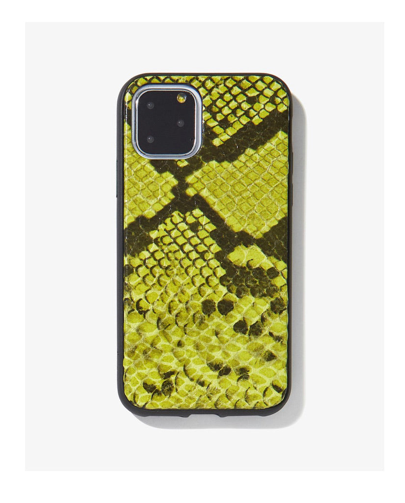 Sonix, Neon Green Python, iPhone 11 Pro/(XS/X)