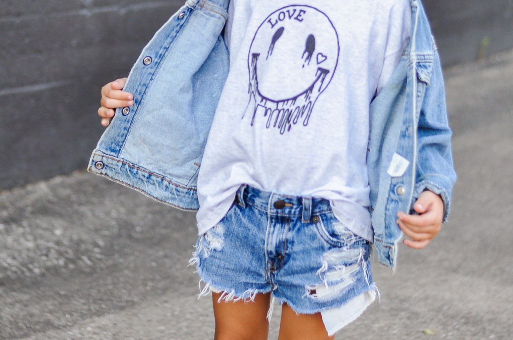 DENIM FLARE: Denim Distressing