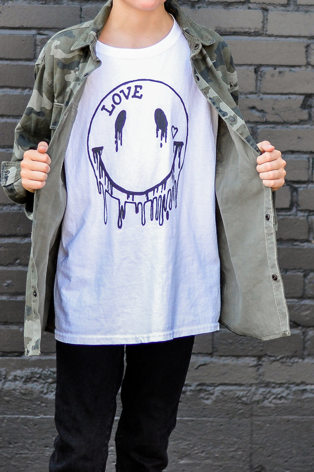 Kids ' Melting Smiles' Tee