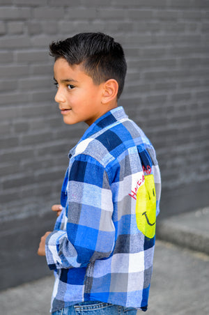 Kids Customized Flannel Shirts