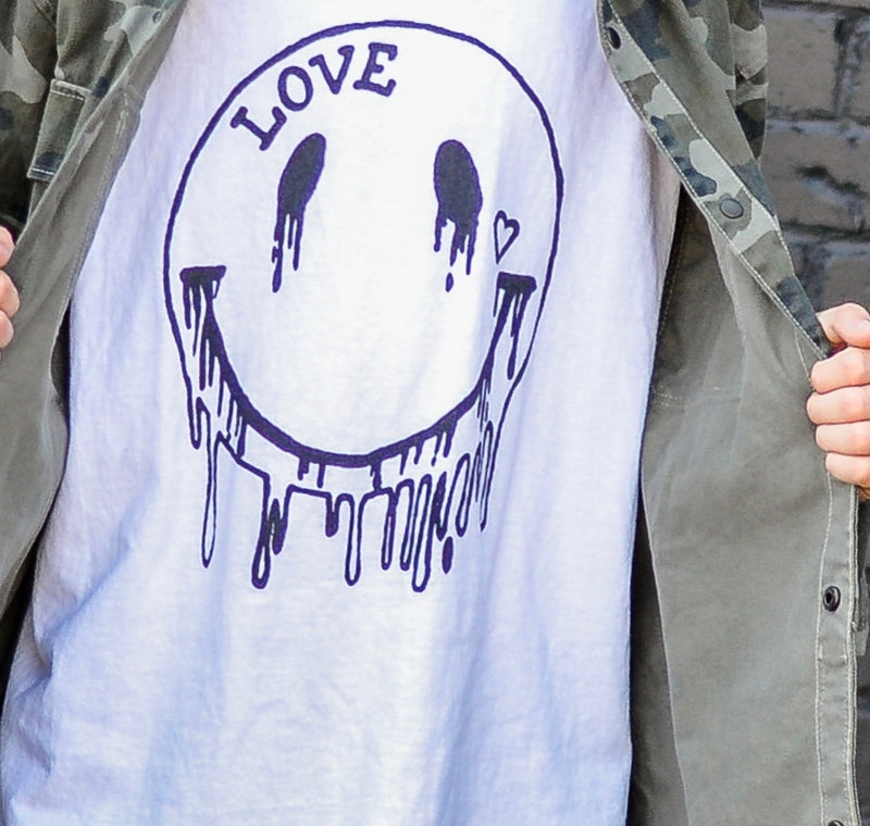 Adult 'Melting Smiles' Tee