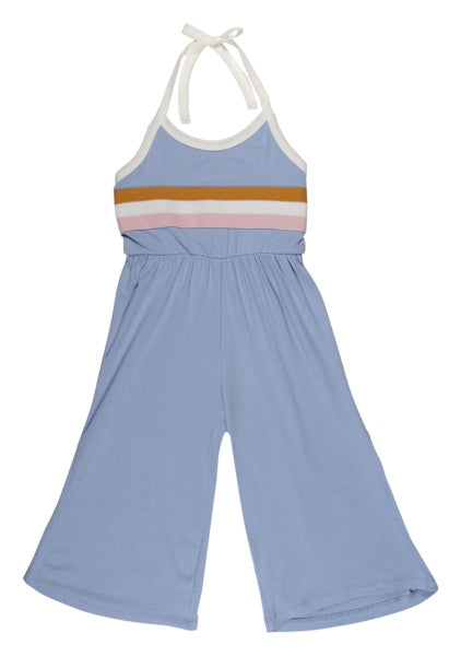 Girls TINY DANCER LIGHT BLUE JUMPSUIT