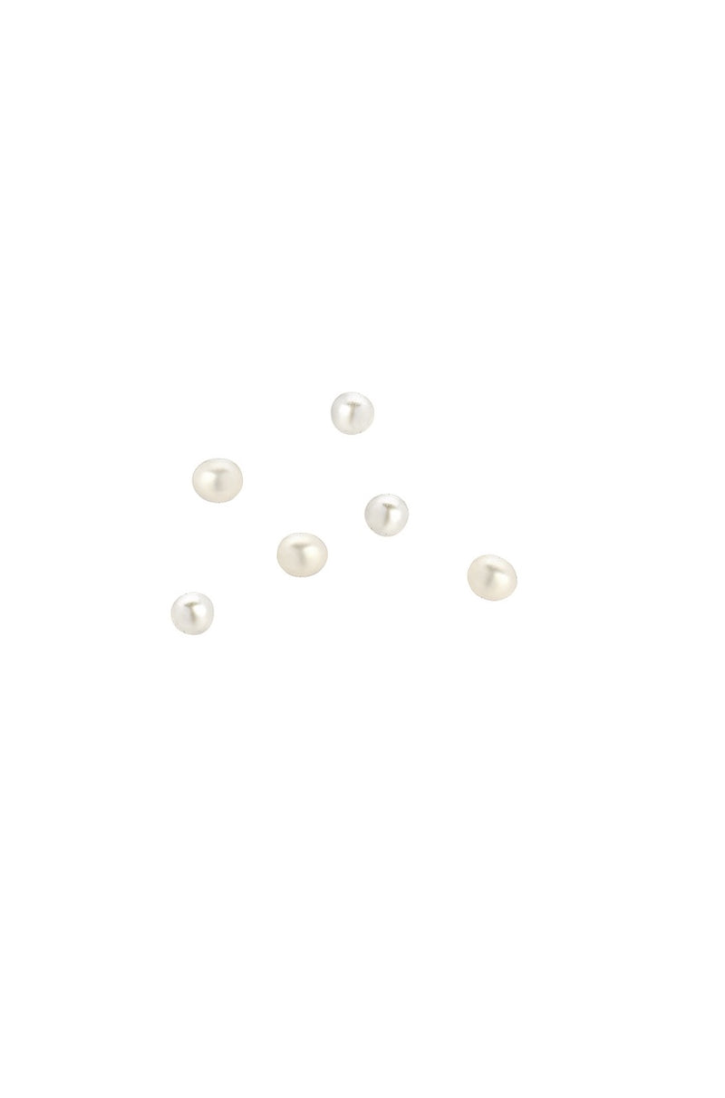 7 Loose Tiny Pearl Charms
