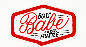 "PATCH BAR: Small ""Hustle Boss Babe"" Patch"