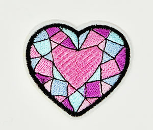 "PATCH BAR: Small ""Gem Heart"" Patch"