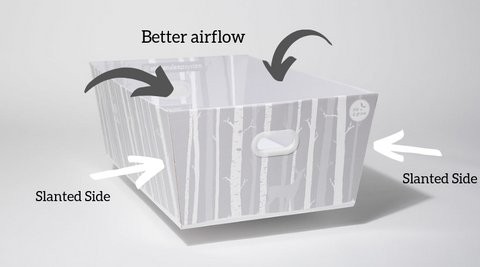 Portable Crib with Good Airflow