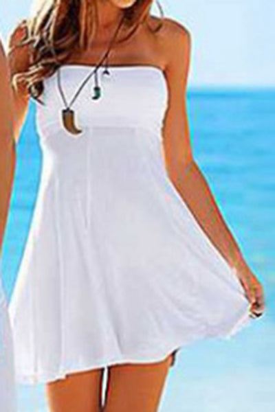 Cupsomer Solid Color Bandage Cover Up