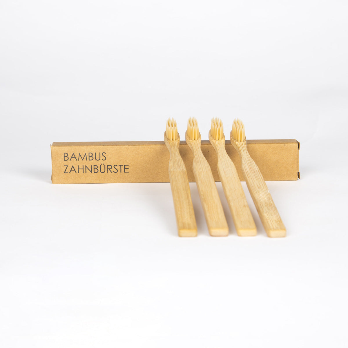 Bamboo Toothbrushes (4 pack)