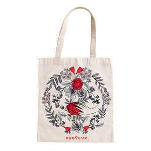 Ruby Statement Tote bag