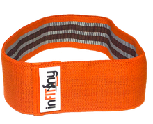 "Load image into Gallery viewer, 15"" Orange heavy resistance glute band"
