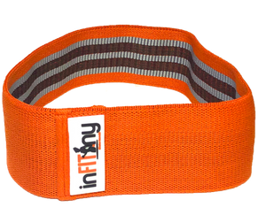 "15"" Orange heavy resistance glute band"