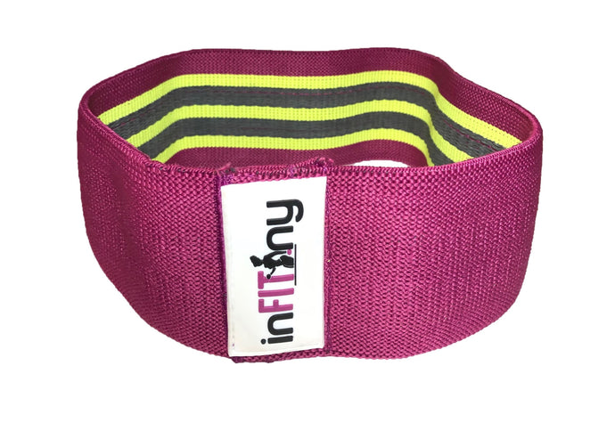 "13"" heavy resistance purple glute band"