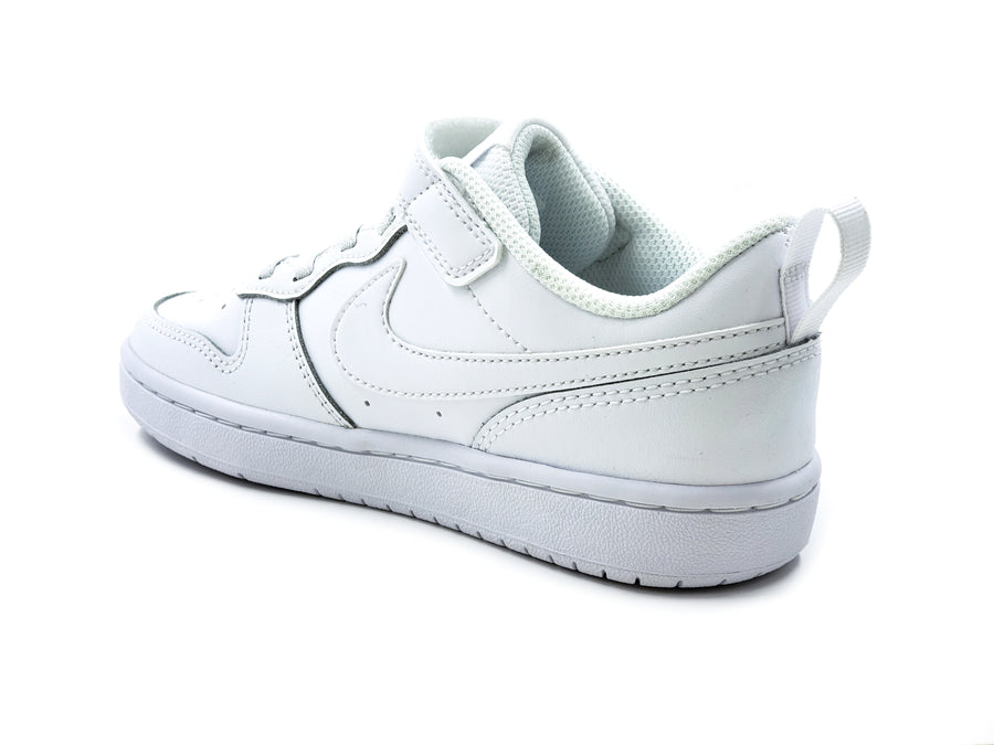 Tenis Nike Court Borough Low 2 BQ5451100 Blanco-Niños