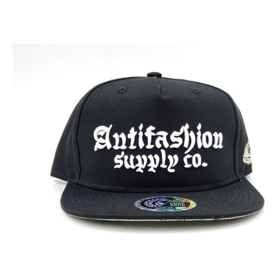 Gorra Antifashion Snapback Negra Colección 2021 Supple