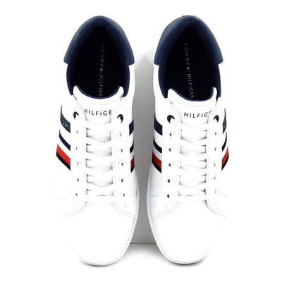 Tenis Tommy Hilfiger Thyme-a Blanco/azul-hombre