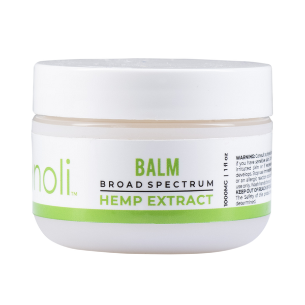 1000mg Broad Spectrum CBD Balm