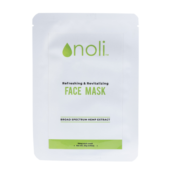 Broad Spectrum CBD Face Mask