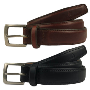 Concealed Carry CCW Leather Gun Belt 1.25""