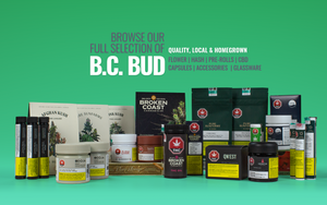 Large variety of cannabis products including: flower, pre-rolls, hash, vape, edibles, cannabis drinks, cannabis accessories and more. Victoria and Duncan's premier pot shop.