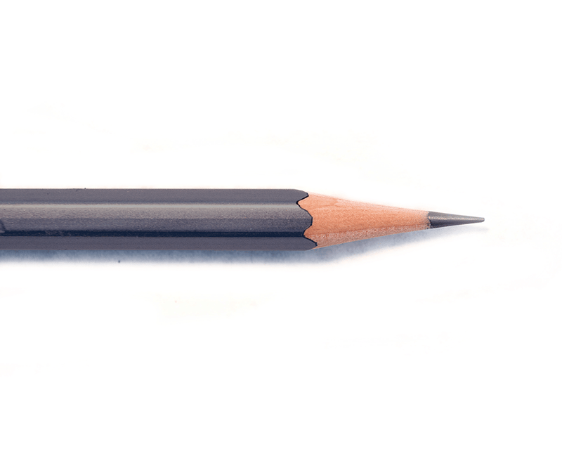 Blackwing White Long Point Sharpener - Pencil Point