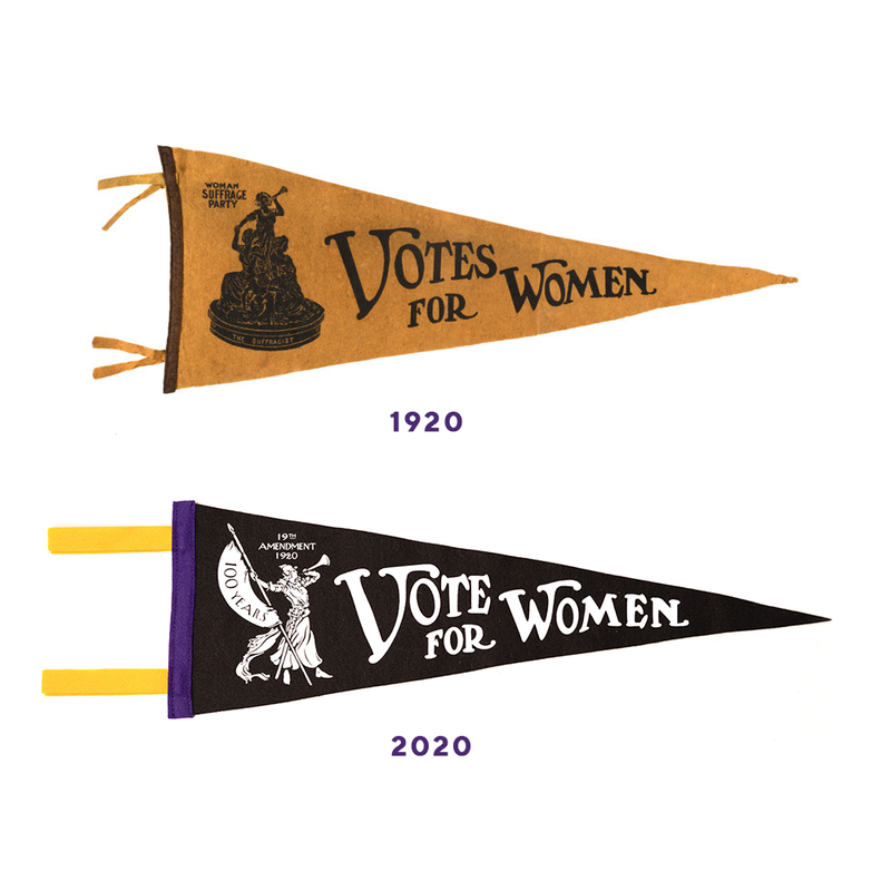 Blackwing Vote For Women pennant.