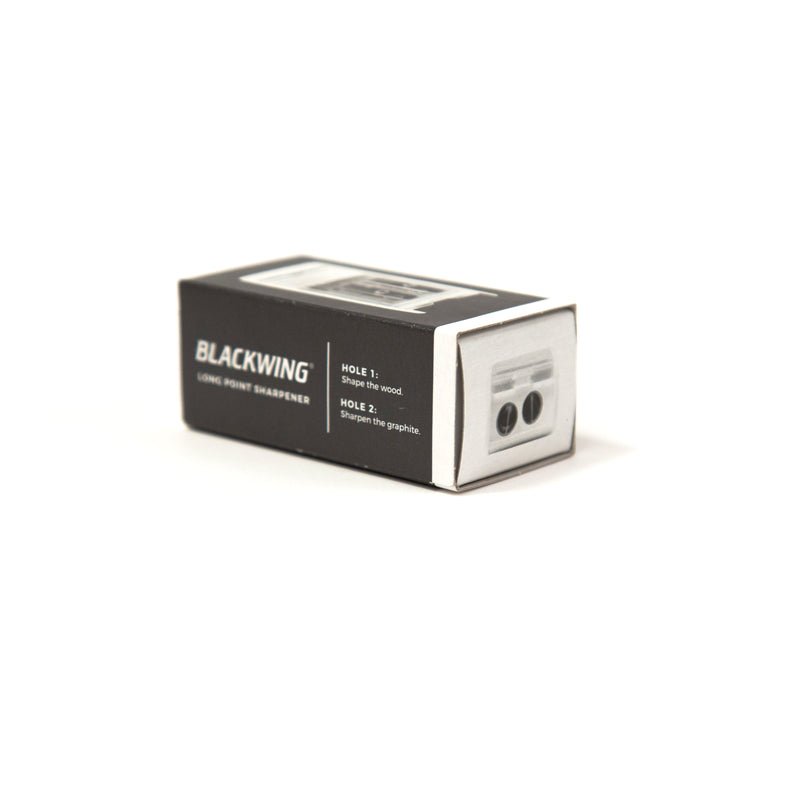 Blackwing White Long Point Sharpener - Package