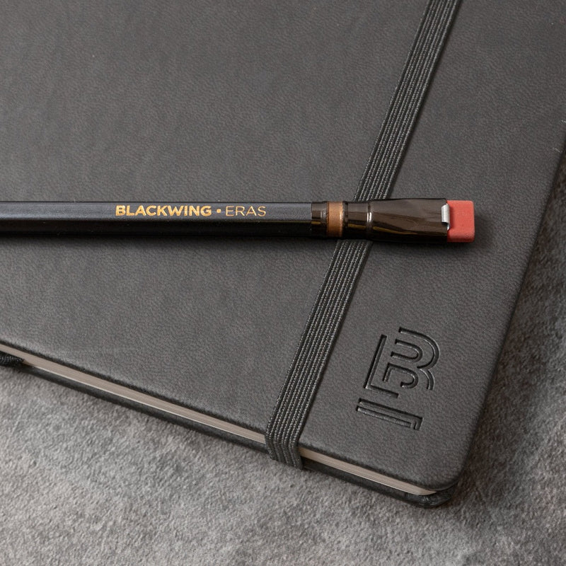 Blackwing Eras Pencil included with Blackwing Eras Slate Notebook