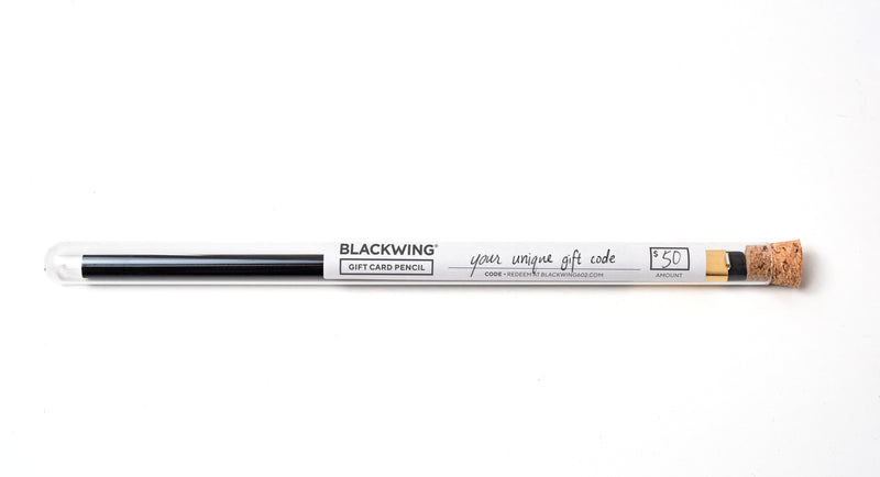 Blackwing Gift Card Pencil