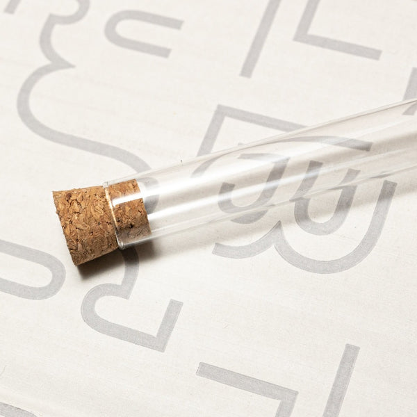 Blackwing Pencil Archive Tube - Glass tube with cork to showcase your Blackwing collection