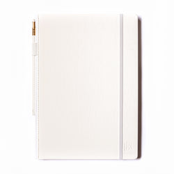 Large Slate Notebook - White