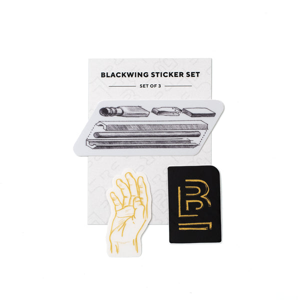 Blackwing Sketched Sticker Set