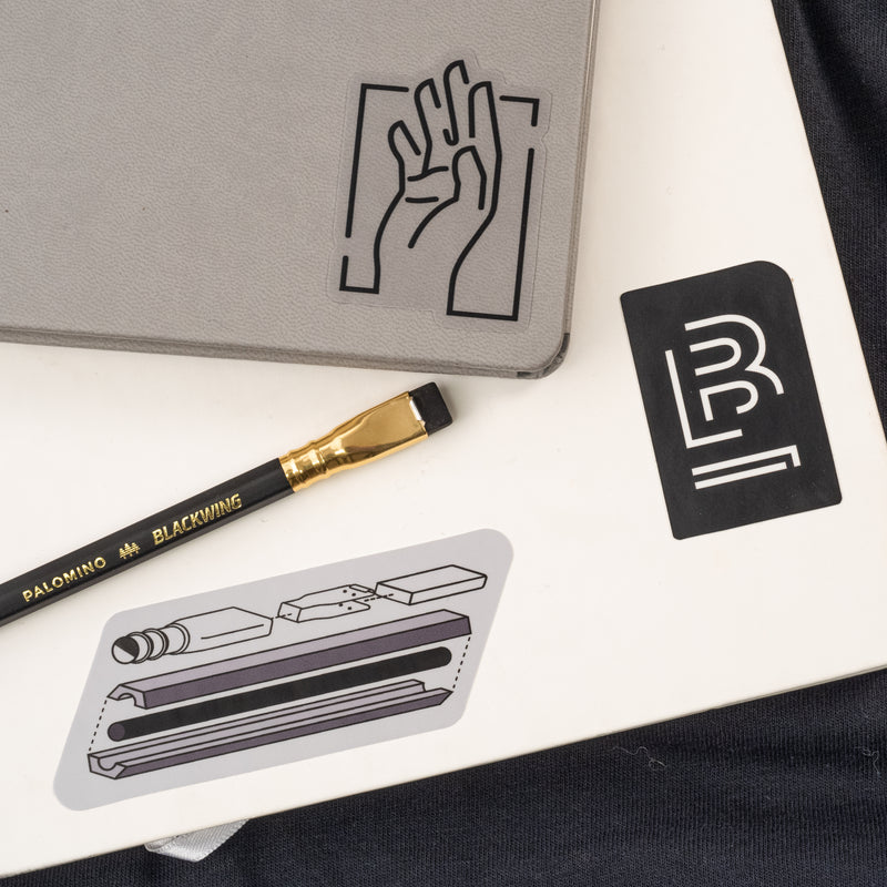 Blackwing Blueprint Sticker Set