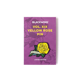 Blackwing XIX Yellow Rose Pin