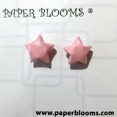 Origami Star Stud Earrings