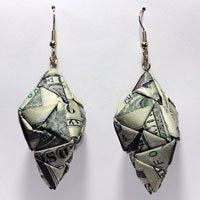 TEARDROP MONEY EARRINGS