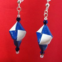 Taylor Blue TEARDROP EARRINGS