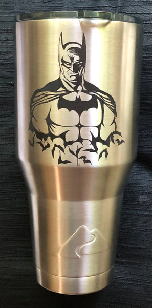 40 Ounce Custom Batman Tumbler