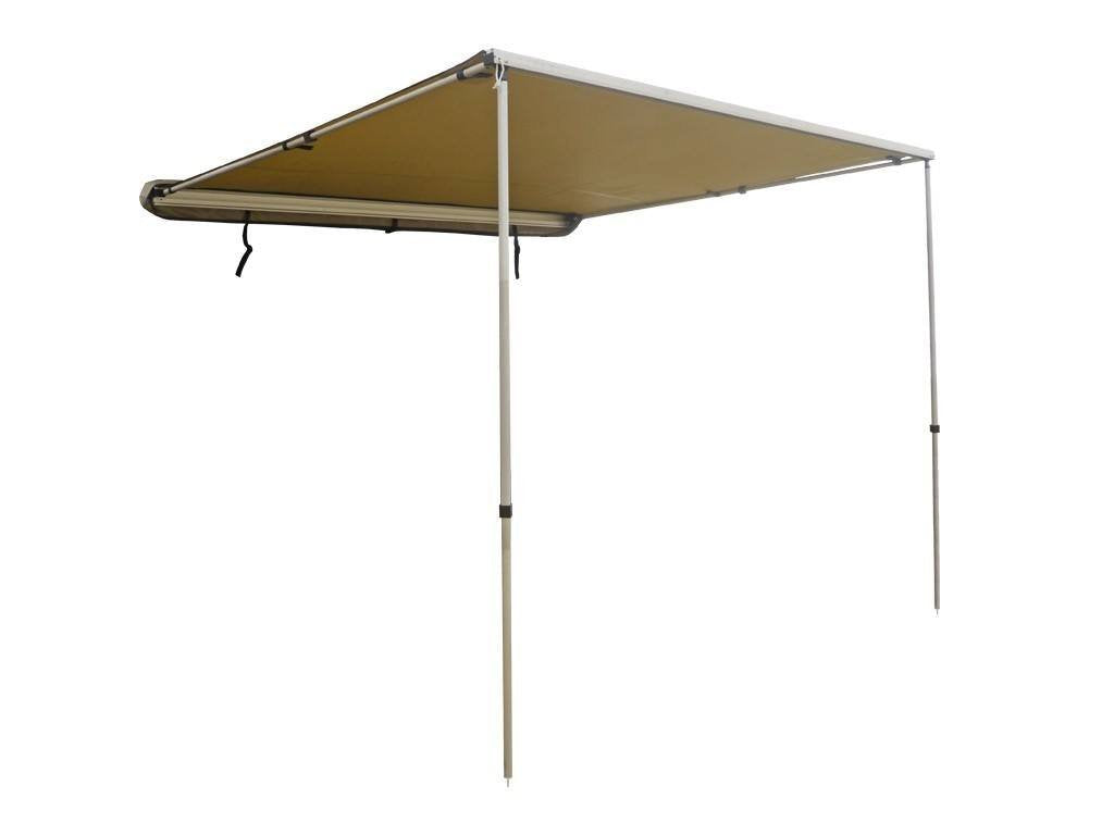 DOBINSONS 4×4 ROLL OUT AWNING 4.6FT X 6.5FT SMALL SIZE, INCLUDES BRACKETS AND HARDWARE