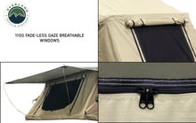 Load image into Gallery viewer, Overland Vehicle Systems TMBK 3 Person Roof Top Tent with Green Rain Fly