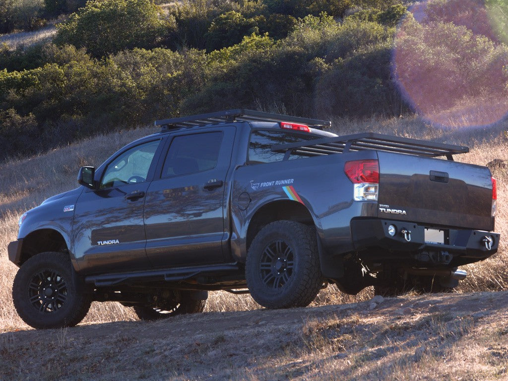 Front Runner Toyota Tundra Crew Max Bakkie (2007-Current) Slimline II Load Bed Rack Kit