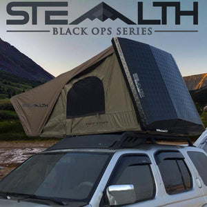 Tuff Stuff® Stealth™ Aluminum Side Open Tent, 3+ Person